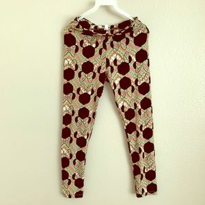 Lularoe Minnie Mouse leggings